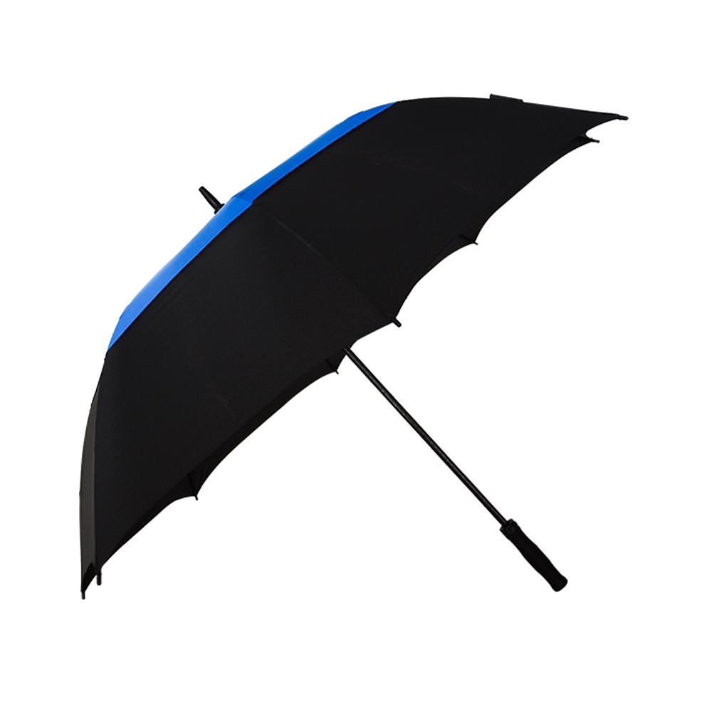 Frame all fiberglass auto open and manual close golf umbrella