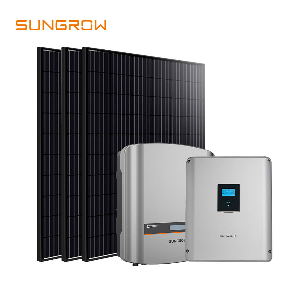 Complete home zonne-energie energie 10kw off grid zonnestelsel