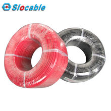 Slocable High Quality Copper Wire Single Core 1x2.5 mm2 PV Solar Cable