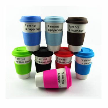 Embossed logo 3D soft pvc rubber cup mug for promotional gift
