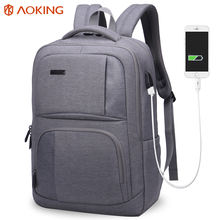 aoking smart citi trends secret compartment backpack usb charging backpack bag zaini bagback