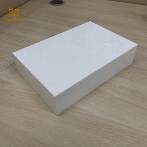 Factory Made Durable Cosmetic Card White Acrylic Storage Box
