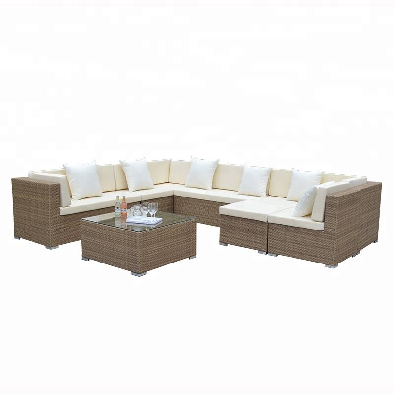 Outdoor Furniture Garden Rattan sofa set