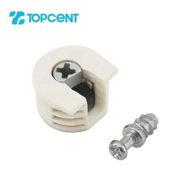 TOPCENT plastic wood furniture cabinet rafix connector
