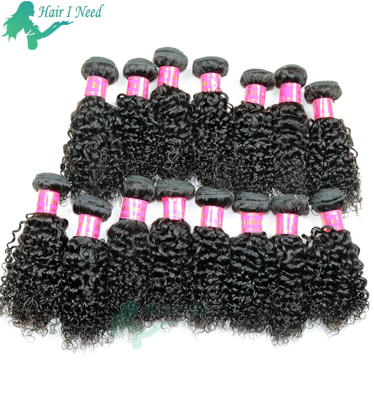 10 inch kinky curly short hair brazilian hair dealer
