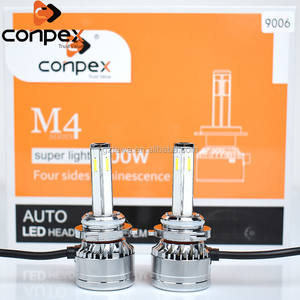 Conpex Best Stable Auto Light LED Car Headlight Bulbs 9005 9006 with Fan
