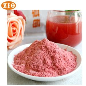 Pure 99% strawberry flavour fruit powder food grade bulk price