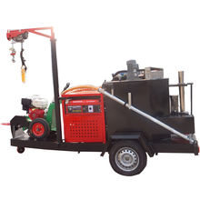 350L hot melt kettle Asphalt road crack sealing crack filler machine