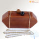 New Ladies Clutch New Trending Fashion Ladies Wooden Clutch Bag