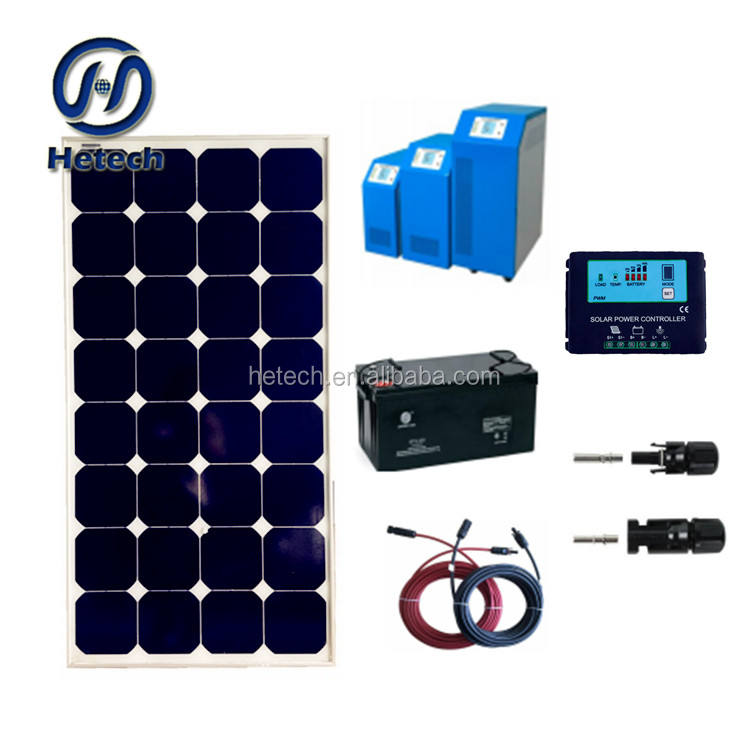 Solarparts Standard Kits 200W DIY RV/Boat Kits Solar System 100W flexible rv solar panel+controller+cable outdoor
