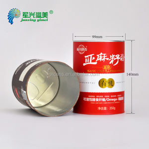 Competitive price kraft paper tube packaging food container airtight