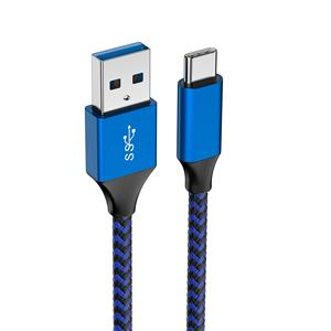 Shenzhen factory usb 3.1 gen 1 type c charger data cable to USB 3.0 high speed data cables 3A 5GB usb C cable for samsung phone