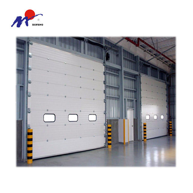 Automatic Sub Steel Material Lift Industrial Sectional Door