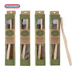 fully biodegradable charcoal natural bamboo toothbrush