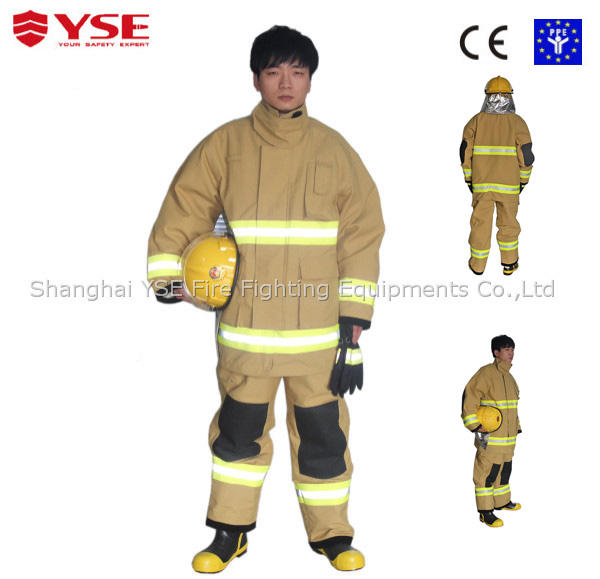 EN469 4 layer firefighting firefighter class a dress uniform