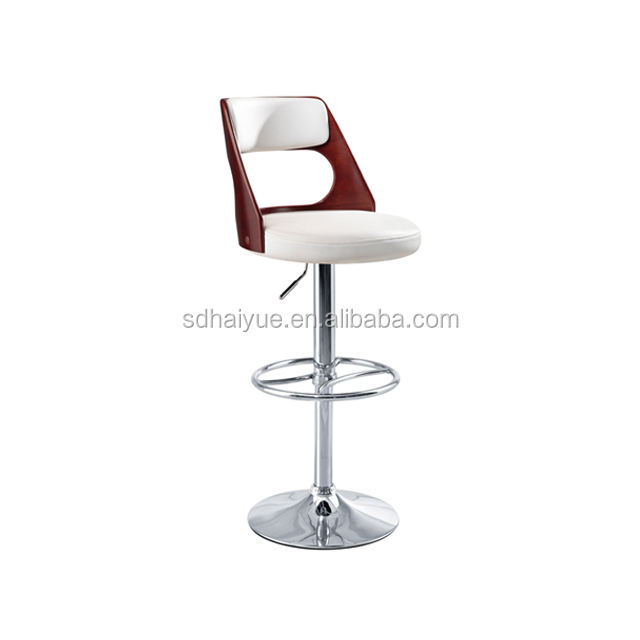 Wholesale high quality adjustable height leather restaurant bar stool HY2027H