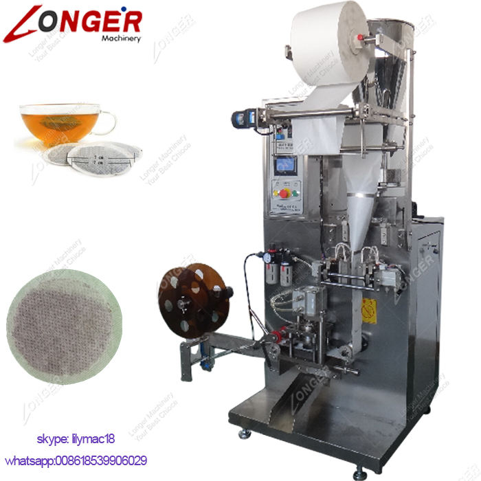 Multifunction Filter Paper Round Tea Bag Pack Packing Machine Coffee Pods Making Filling Machine To Make Coffee Pods