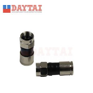 CATV Compression RG59 RG6 F Connector