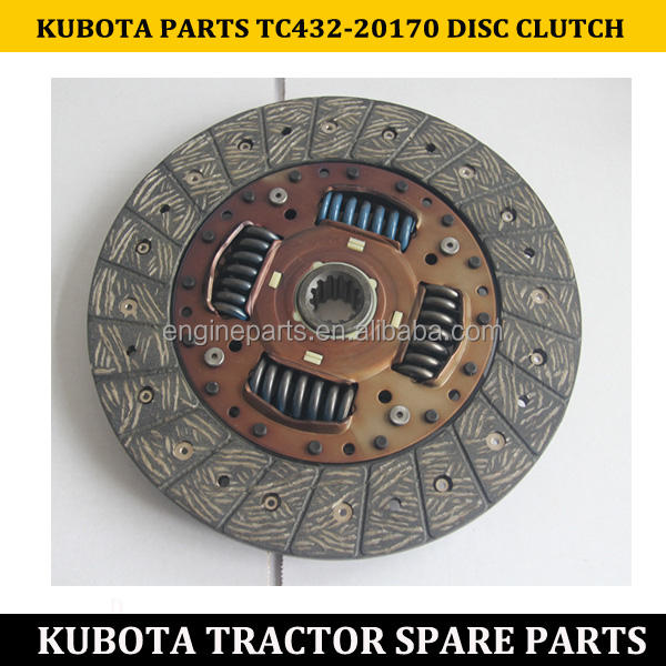 KUBOTA SMALL TRACTOR TC432-20170 DISC CLUTCH FOR L3608 L4508 TRACTOR