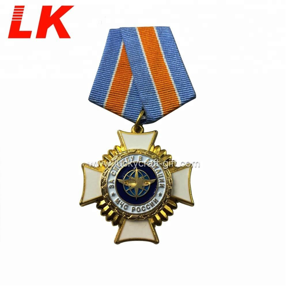 OEM custom design 3d engraving metal miniature america military medal with ribbons