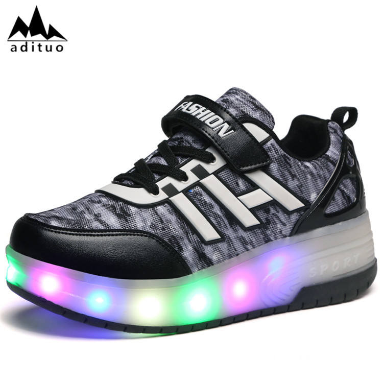 Professional Wholesale Custom Led Wheel Roller Shoes