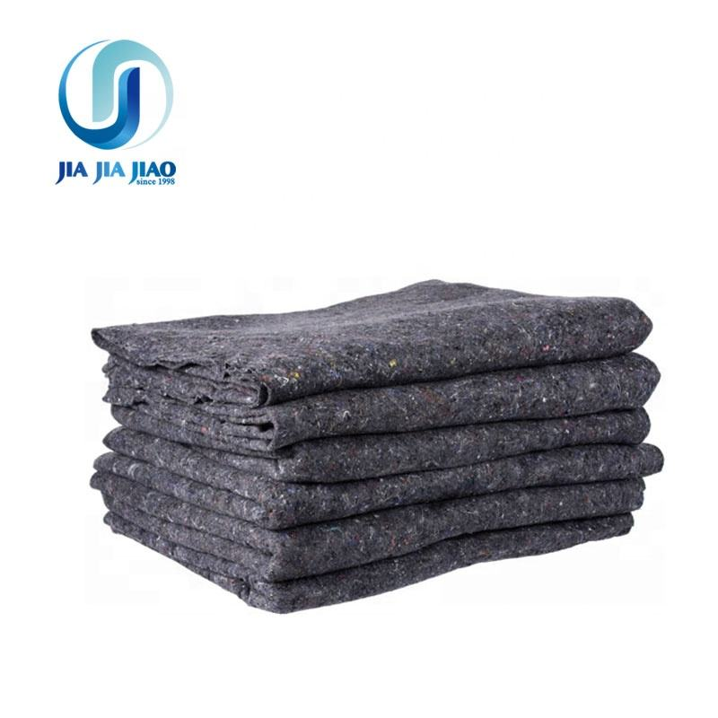 Textile 100% Recycled Cotton Furniture Moving Blankets