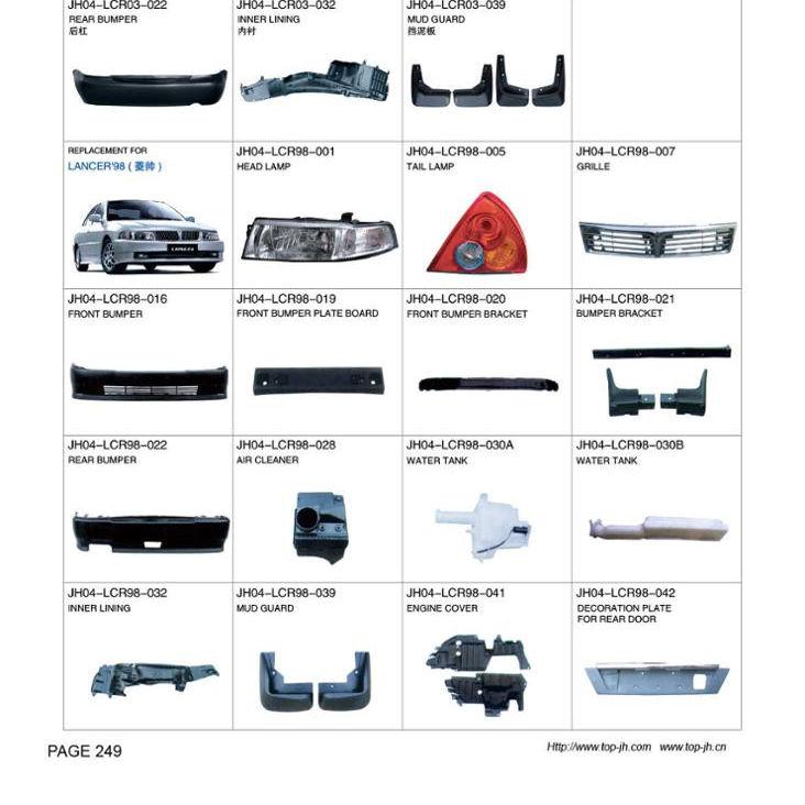 96-98 Mitsubishi lancer evolution 4 /& 5 clear front indicators-s/' adapte evo