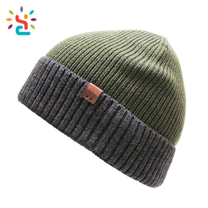 Warme Unisex Wintermütze Mütze Strickmütze 3M Thinsulate Orange//Schwarz Beanie