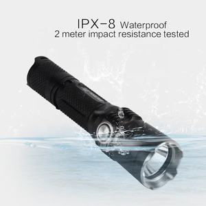 Linterna t/áctica LED OxyLED recargable.Super brillante,CREE T6 LED modo antorcha,IPX-6 resistente al agua,luz ajustable,5 modos de luz para excursionismo a pie y uso de emergencia