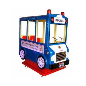 Latest Arcade Games With 3 Seats Coin Operated Bus Kiddie Rides For Sales