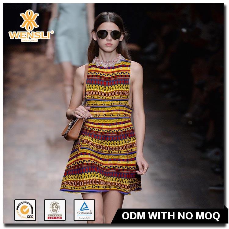 Impresa Camisa de Satén de Seda de Mora Pura China Tela