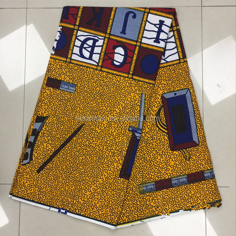 African Fabric Real Wax Print Dresses African Ankara Fabric African Wax Fabrics Ankara 0804