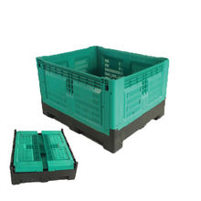Perforated Plastic Pallet Containers For Potatoes And Onion Storge