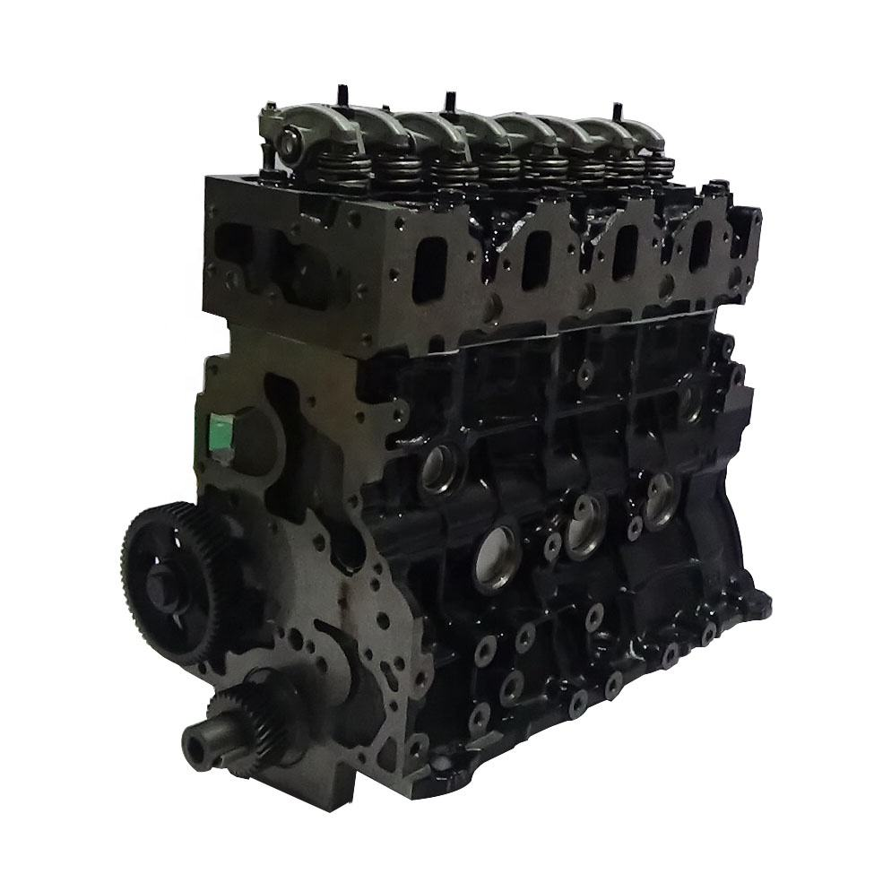 Dmax 4x4 isuzu 4jh1 turbo engine parts 4jh1 t long block engine 4 cylinder diesel engine