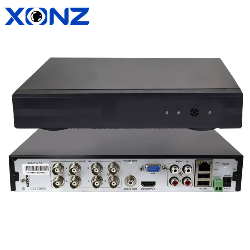 Home CCTV Outdoor 8CH FULL 1080N H.264 XVR 5 1でDVR Real-時間Monitoring HDMI 1080P VGA 8 Channel AHD DVR System