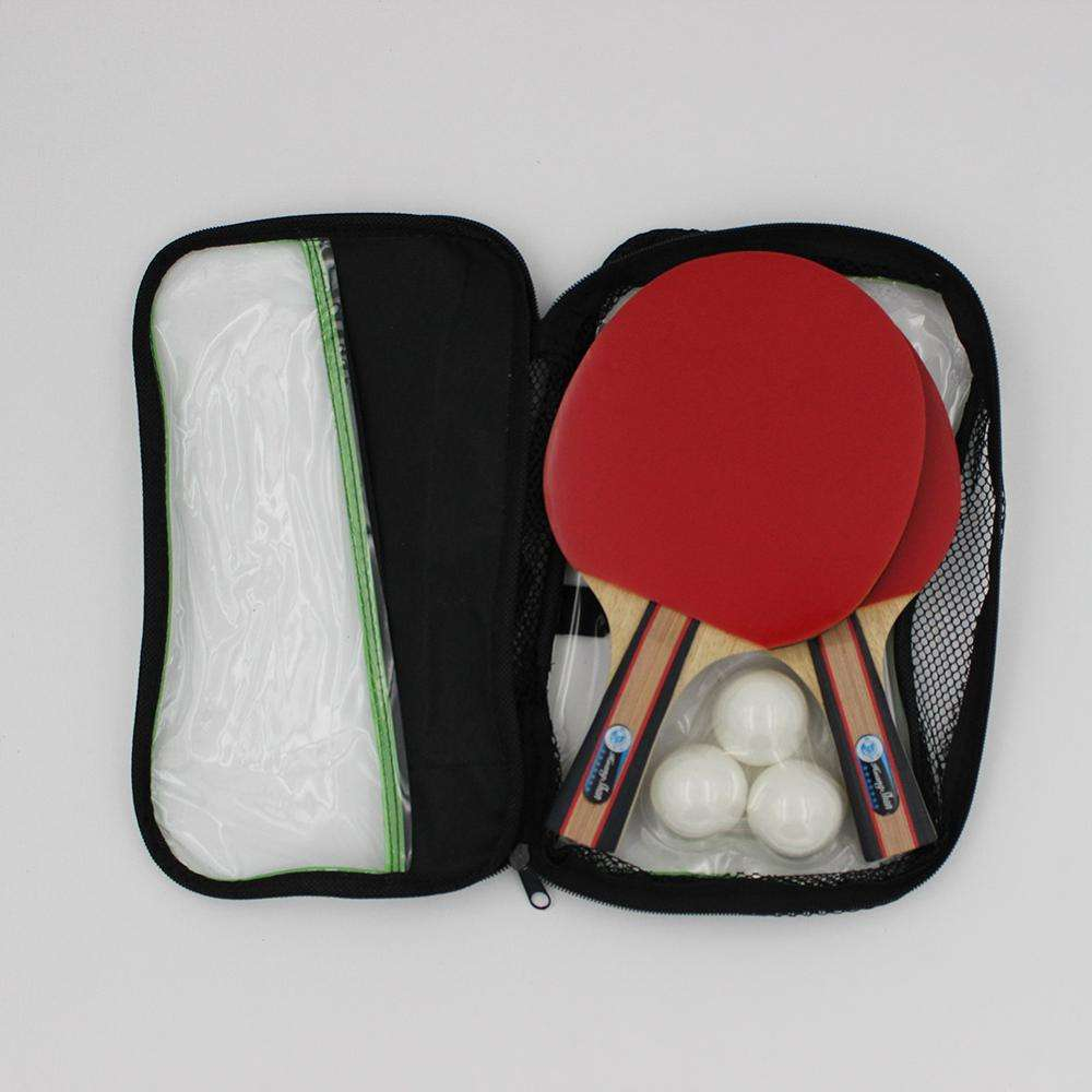 Table Tennis Paddle Custom Wood Carbon Training Table Tennis Paddle 3 Star Poplar Pingpong Racket