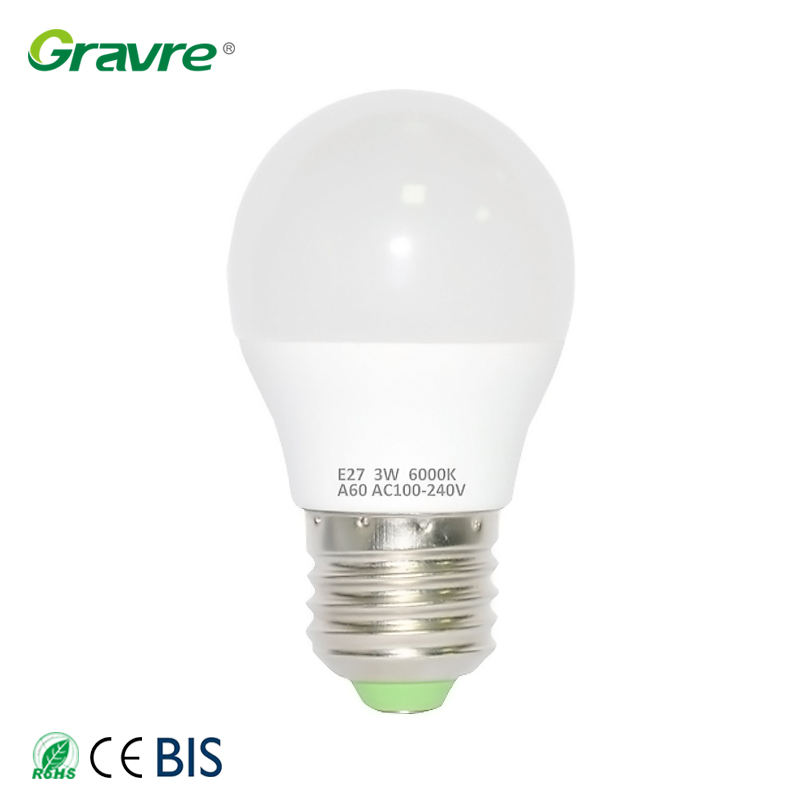 Hot selling energiebesparende led lamp lampen e14 e27 schroefdraad kleine licht home verlichting lamp