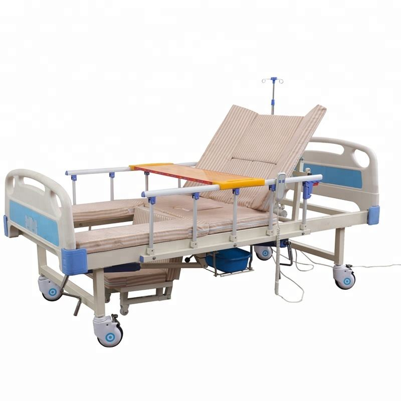 Elderly care automatic adjustable electric hospital bed for sale