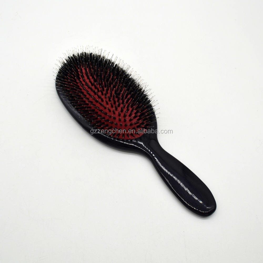 Private label paddle massage boar bristle hair brush for sale