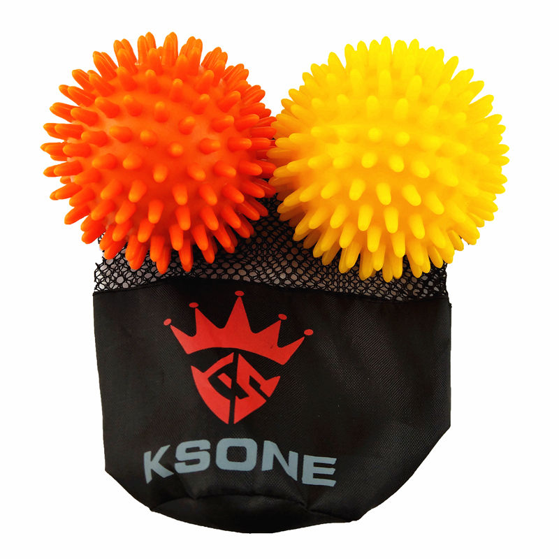 Deep Tissue Massage Remove Pain Foot Back Shoulder Legs Muscle Massage Roller Ball für Physical Therapy