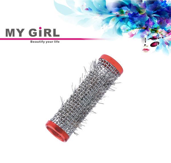 minha menina fio diy aço hot rod metal rolos de cabelo clipes