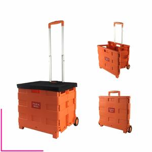 Plastic Foldable Rolling Trolley Manufacturer Market Wheeled