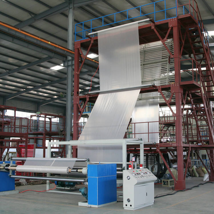 China PE plastic Agriculture greenhouse 3 layer blown film extrusion machine