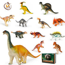 Promotional Plastic Toy Dinosaur Model Plastic Cartoon Animal Toys
