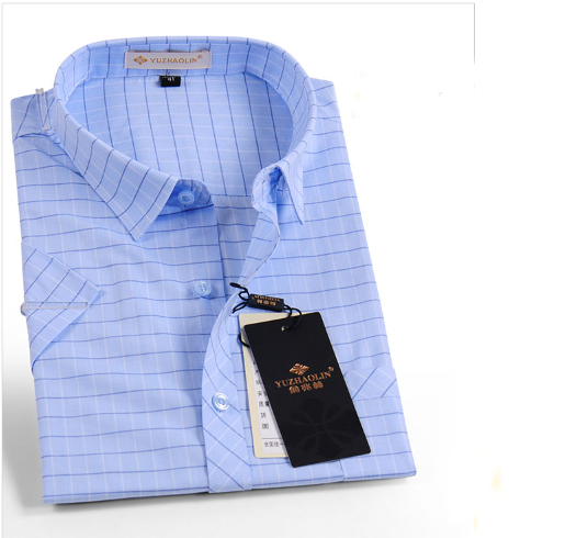 Commercio all'ingrosso button down disegno del collare mens camice di affari di stile italiano