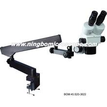 0.7X-4.5x Stereo Zoom Microscope with Flexible Arm