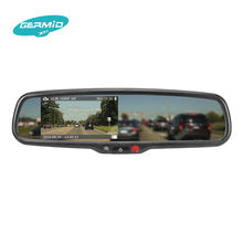 hot sell hd media player car dvr rearview mirror support portable dvd player with night vision camera