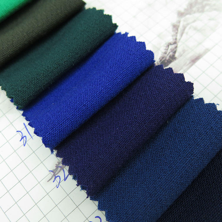 wholesale woven plain style Super thick Korean cotton linen polyester rayon spandex fabric for down jackets, work clothes, bags