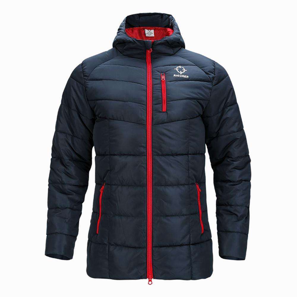 Outdoor sports jacket men's cotton coat short lose warm down jacket winter