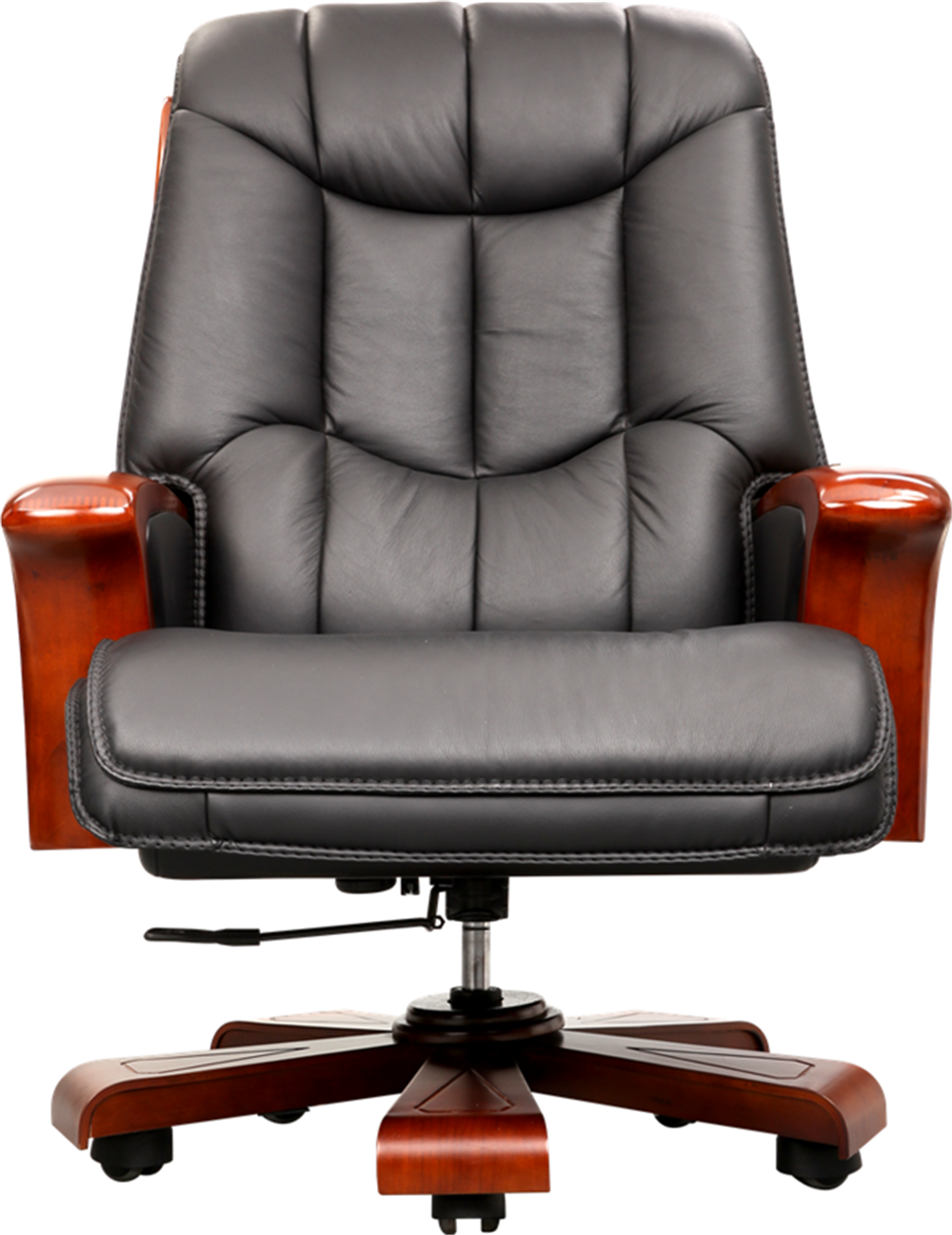 Classical Manager Boss Office Chair Italian Leather Swivel Chair